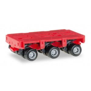 Macheta trailer Goldhofer cu 3 axe, 2buc