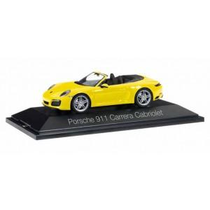 Macheta Auto Porsche 911 Carrera Cabriolet 991 II