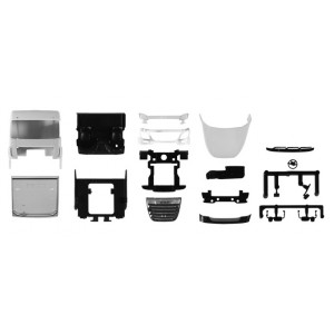 Kit 2x Cabina DAF XF SC 2017 cu paravant