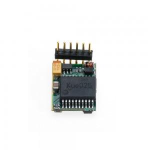 Mini DCC decodor pentru H0e și N cu 6 pini