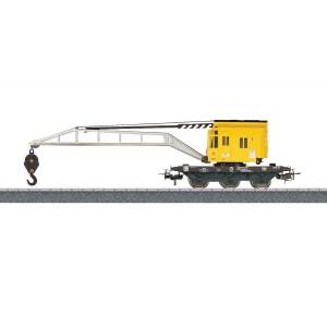Vagon cu macara rotativa, Epoca IV-V