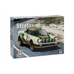 Kit de construit auto LANCIA STRATOS HF 1:24