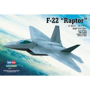 Kit de construit avion F22A Raptor 1/72