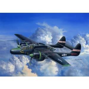 Kit de construit avion P-61C Black Widow 1/48