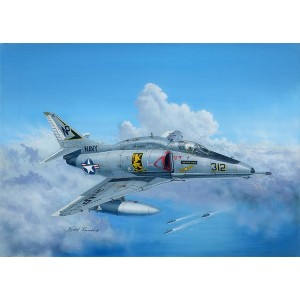 Kit de construit avion A4F Sky Hawk 1/48