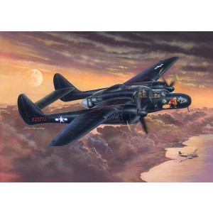 Kit de construit avion P-61B Black Widow 1/32