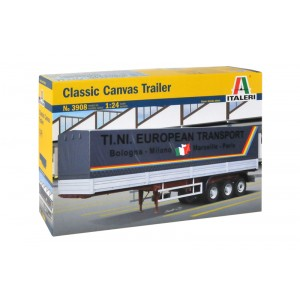 Kit de construit semiremorca TRANSPORT CLASIC CANVAS 3 AXE