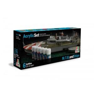Set vopseluri acrilice M.T.B. and Ships