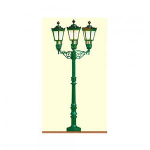 Lampa de parc cu 3 brate
