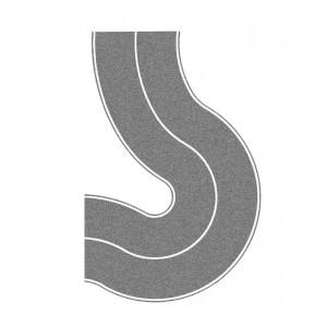 Sosea curbata gri 6.6 cm