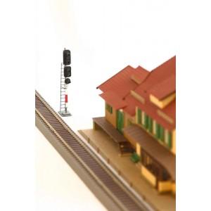 Semafor SNCFR de iesirea liniei principale