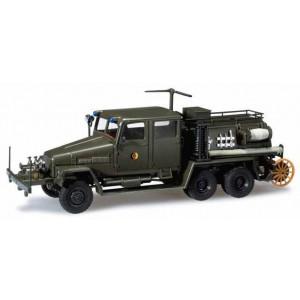 "Macheta camion militar pompieri IFA G5 TLF ""NVA"""