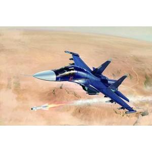 Kit de construit avion Sukhoi Su-34 Fullback Fighter-Bomber 1/72