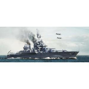 Kit de construit nava de razboi USS Maryland BB-46 1945 1/700