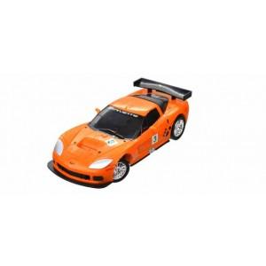 Kit de construit Chevrolet Corvette Galben 1:32 Puzzle Fun 3D