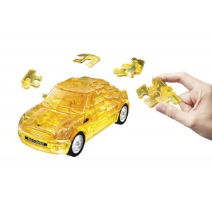 Puzzle Fun 3D Mini Cooper, transparent