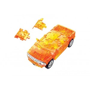 Puzzle Fun 3D Hummer, transparent