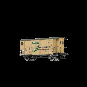 """Vagon de marfa K2 """"RICOLA"""", SBB,Epoca III"""