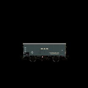 "Vagon de marfa tip G10 ""MAN"" , DB, Epoca III"