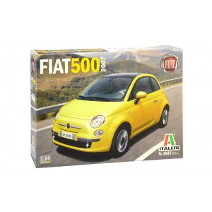 Kit de construit FIAT 500 (2007) 1:24
