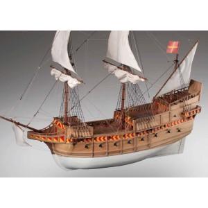 Kit corabie din lemn, SAN MARTIN 1:72