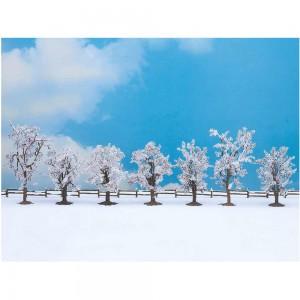 Set 7 pomi de iarna, 8-10 cm