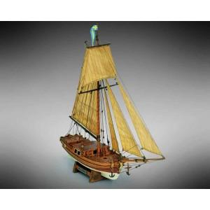 Kit corabie din lemn GRETEL 1:54