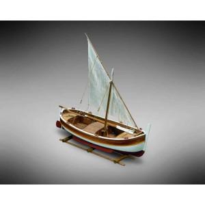 Kit corabie din lemn, Gozzo Vela 1:28
