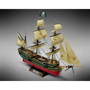 Kit corabie din lemn Black Queen 1:135