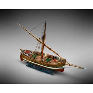 Kit corabie din lemn Leudo 1:72