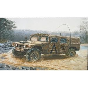 Kit de construit vehicul militar HUMMER M998 1:35