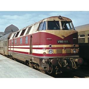 Locomotiva diesel V 180, DR, Epoca III