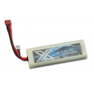 Acumulator LiPo Akku 2S 7,4V 3500mAh 20C Hardcase