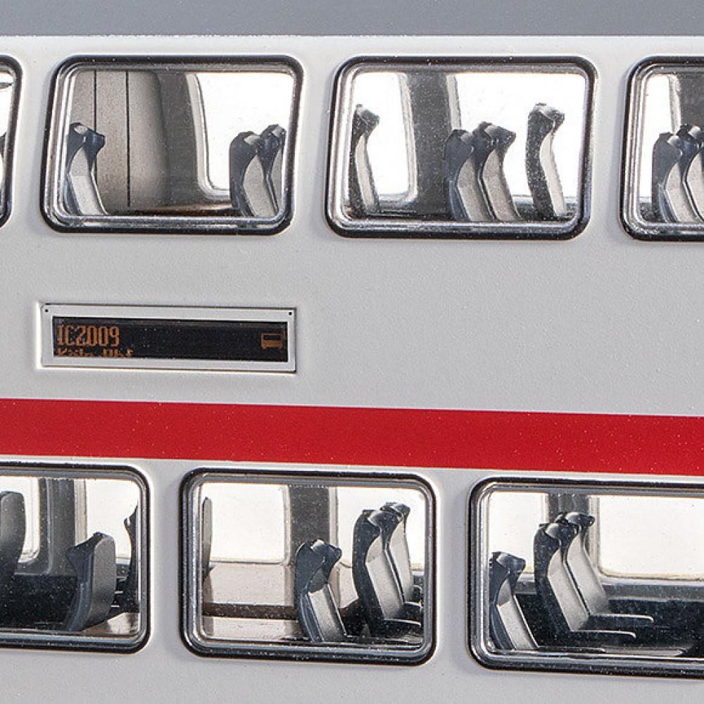 Set vagoane IC 2 cu cap de tren Brawa 44504, ICE 2, DB AG