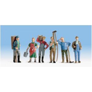Set figurine HO Viticultori