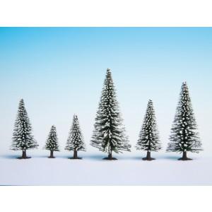 Set 5 brazi de iarna, 5-9 cm