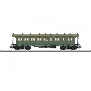 Vagon de calatori de tip BCCI, K.W.St.E., Epoca I