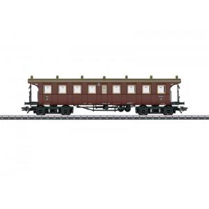 Vagon de calatori CCi cls. 3, K.W.St.E., Epoca I
