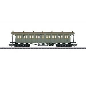 Vagon de calatori C4, clasa a IV-a, K.W.St.E., Epoca I