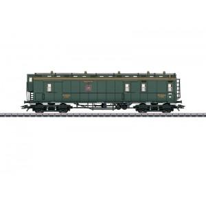 Vagon posta K.W.St.E., Epoca I