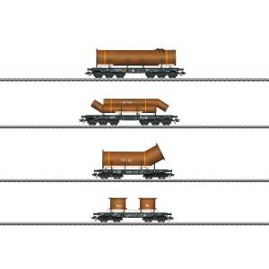 Set vagoane cu incarcatura, DB, Epoca IV