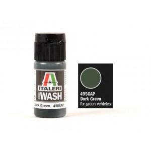 Vopsea acrilica pe baza de apa, pentru patinat, Verde inchis Mat, 20 ml