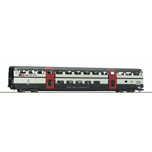Vagon de calatori cu etaj,cls.2, SBB, Epoca VI