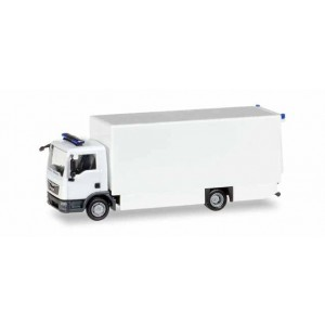 MiniKit: camion MAN TGL cu girofaruri