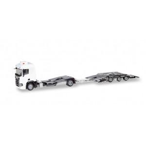 Minikit: Camion Scania CR ND Transport Camioane cu Remorca