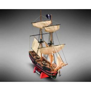 Kit corabie din lemn Captain Morgan 1:135