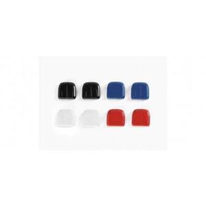 Aer condiționat pentru camioanele Herpa (2xroșu / alb / albastru / negru), 8buc