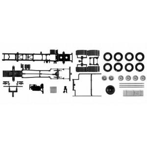 Kit 2x sasiu MAN TGX LKW Euro 6, 7,45 m, 3axe