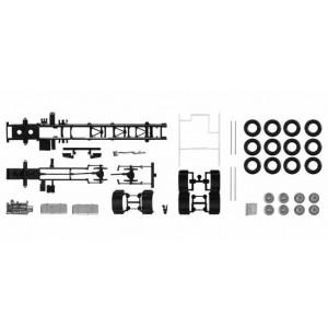 Kit 2x sasiu Volvo LKW cu placa de protectie, 4 axe