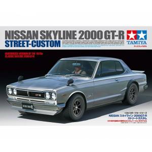 Kit de construit auto Nissan Skyline 2000GT-R 1:24